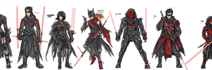 BatSith Family by bulletproofturtleman