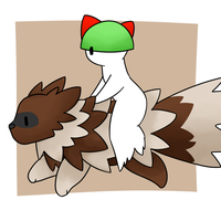 Ralts and Zigzagoon