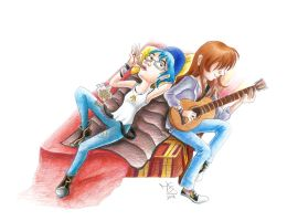 Life is Strange - Janina and me, Partners in Time by Tabascofanatikerin