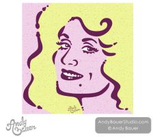 Portrait: Dolly Parton by Art-by-Andy