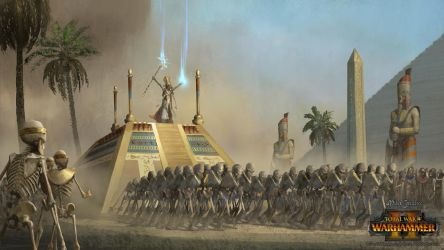 Tomb Kings Celebration by EthicallyChallenged