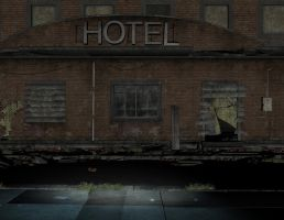Hotel stock 02 by Ecathe