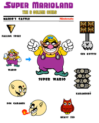 Mario's Castle Enemies by Grimklok