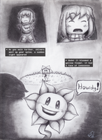 Undertale: A story written by the reader - Ch1-P4 by Rhay-Robotnik