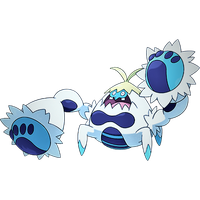 Crabominable: Fighting and Ice type