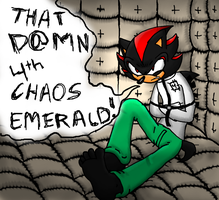 That D@MN 4th Chaos Emerald by SuperBlade9000