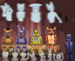 FNAF - Poster Edges by SodiePawp