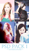 PSD Pack#1 - Happy 6th Anniversary of SNSD by jungsubby