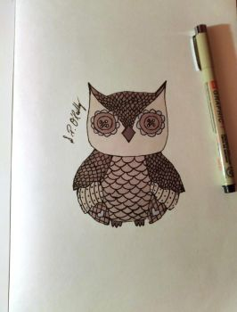 Cute Owl by Sone28