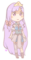 hime oc coloured yay by kamelli