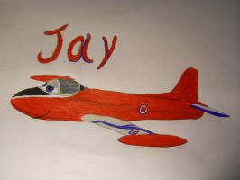 Jay the Jet Provost (commish) by StreakValkyrie