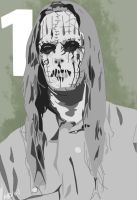 Slipknot-Joey Jordison #1 (Remake) by ARandomUserl-l