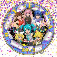 Happy Vocaloid New Year by Randwill