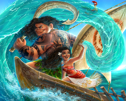 Moana- How Far We'll go by kalisami