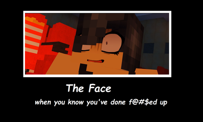 The Face 2     Aphmau Memes by Bluesky-of-Fire