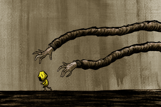 Little Nightmares - Hunger by IvoryTowerArt