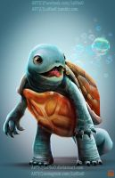 pokemon project 007 Squirtle byLo0bo0