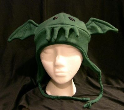 Cthulhu Hat by kittyhats