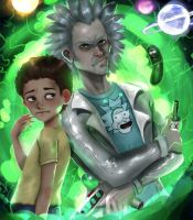 Rick And Morty by magato98