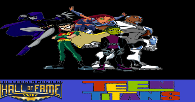 Chosen Mii Hall of Fame 2017 Inductee: Teen Titans by ChosenMii