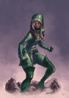 UNCANNY AVENGERS Sketch- ROGUE by PnzrK