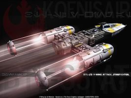 Y-wing by Canduterio