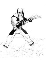 Wolverine.pin-up by Vinktor