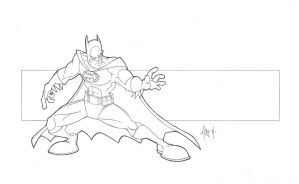 Batman by tyrannus