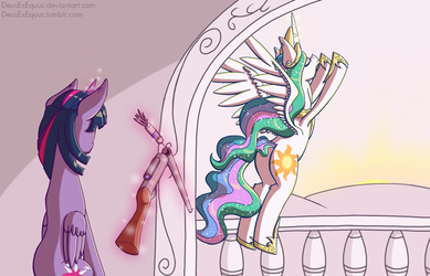 Not This Year, Princess by DeusExEquus