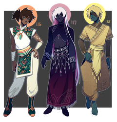 Adopts 116-118 [Set price - Closed] by sandflake-adoptables