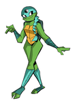 Venus [ Rise of the TMNT ] by JulieDraw2046