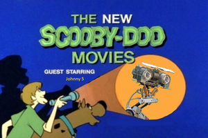 Scooby-Doo Meets Johnny 5 by ChipmunkRaccoonOz