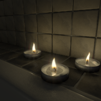 Candle Bath WIP by FengL0ng
