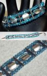 Bracelet: Sparkly Blue by LissaMonster