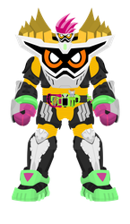 Kamen Rider Ex-Aid Lv99 Maximum Mighty X by raidenzein