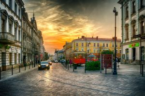 sunset street by marrciano
