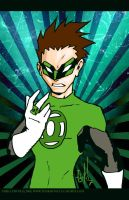Hal Jordan the Green Lantern by lervold