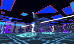 Tron 80's Style Build Second Life image 6 by Maiamimo