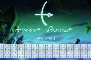FF Crystal Chronicle font by hechiceroo