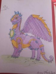 Dragon of them month August by ServineThistle