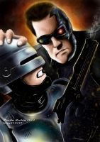 Robocop vs Terminator by terry312237