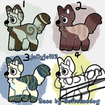 OTA Dog Adoptables (Open) by Jollyjoi02