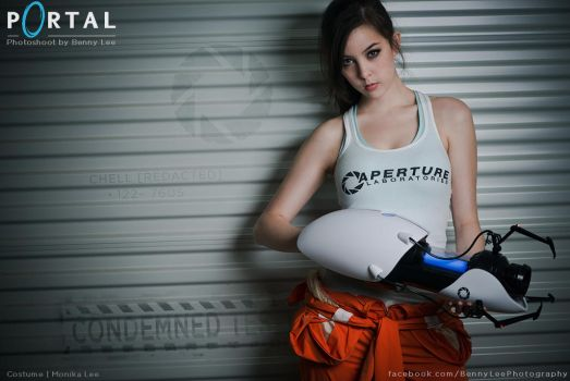PORTAL: CHELL  [REDACTED] by Benny-Lee