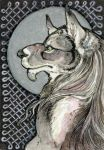 .:ACEO:. for BloodhoundOmega by Atteo