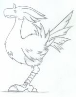 Chocobo by tigerous