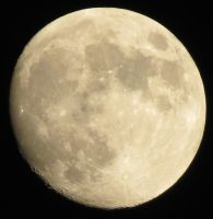 Moon with Cratered Circumference by NPlusPlus