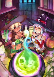 Witch collab by vmat