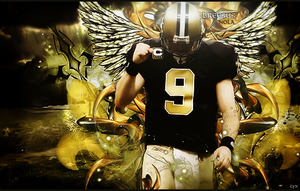 Drew Brees by CajunFX