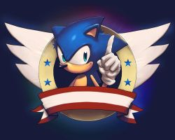 Classic Sonic by 2dforever