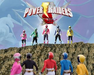 Power Raiders poster by Andruril93
